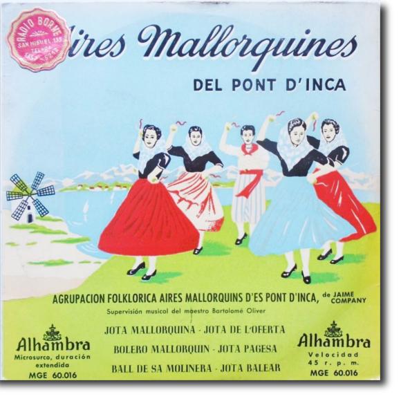 Agrupación Folklórica Aires Mallorquines des Pont d'Inca de Jaime Company, Aires Mallorquines del Pont d'Inca