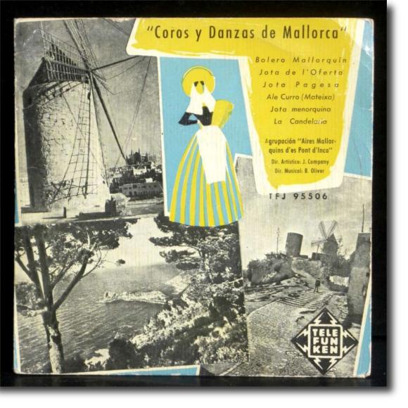 Agrupación Aires Mallorquines des Pont d'Inca, Coros y danzas de Mallorca